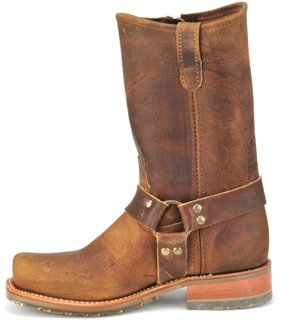 a275785ac29 Double H Boot 11 Inch ICE Harness Boot with Zipper in Brown - Double ...