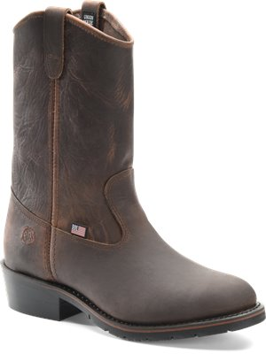 Sahara Rangedocker Double H Boot 11 Inch AG7 Ranch Wellington