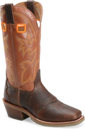 Whiskey Double H Boot 14 Inch  Work Western Buckaroo