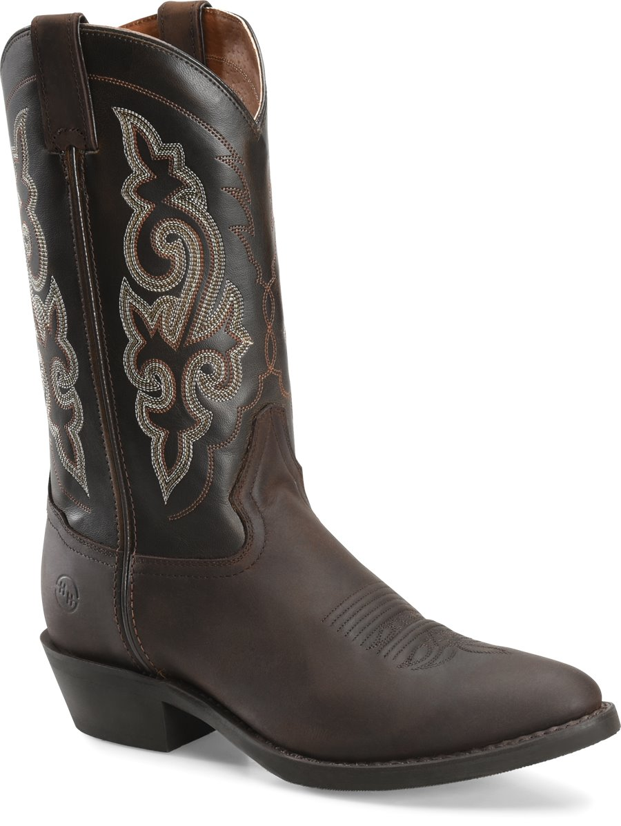 eb37be80060 Double H Boot 12 Inch Work Western in Medium Brown - Double H Boot ...
