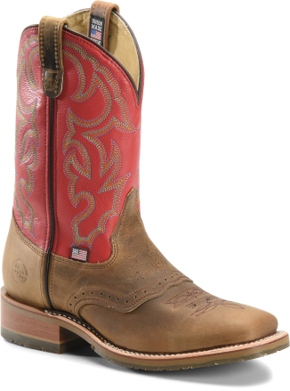 Double H Boots Mens Roger Permafresh 174 Footprint Ice
