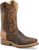 Double H Boot ST Square Toe Roper - Final Sale in Oldtown Folklore