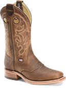 Double H Boot 12 Inch Wide Square Old Town Roper in Light Brown