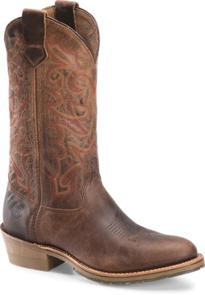 Medium Brown Double H Boot Bodie