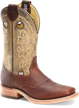 Light Brown  Double H Boot Alec
