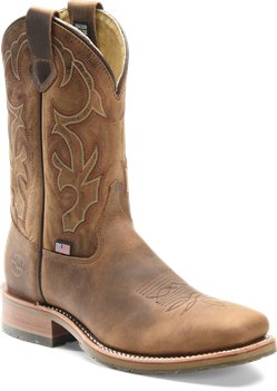 Old Town Folklore Double H Boot Mens 11 Inch Domestic Steel Toe Wide Square Roper