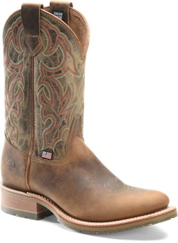 Oldtown/White Onyx Double H Boot Mens 11 Inch Domestic U Toe Roper