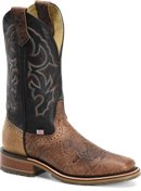 Double H Boot Mens 12 inch Domestic Wide Square Toe Ice Roper