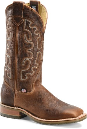 Saffron  Brown Double H Boot Galveston