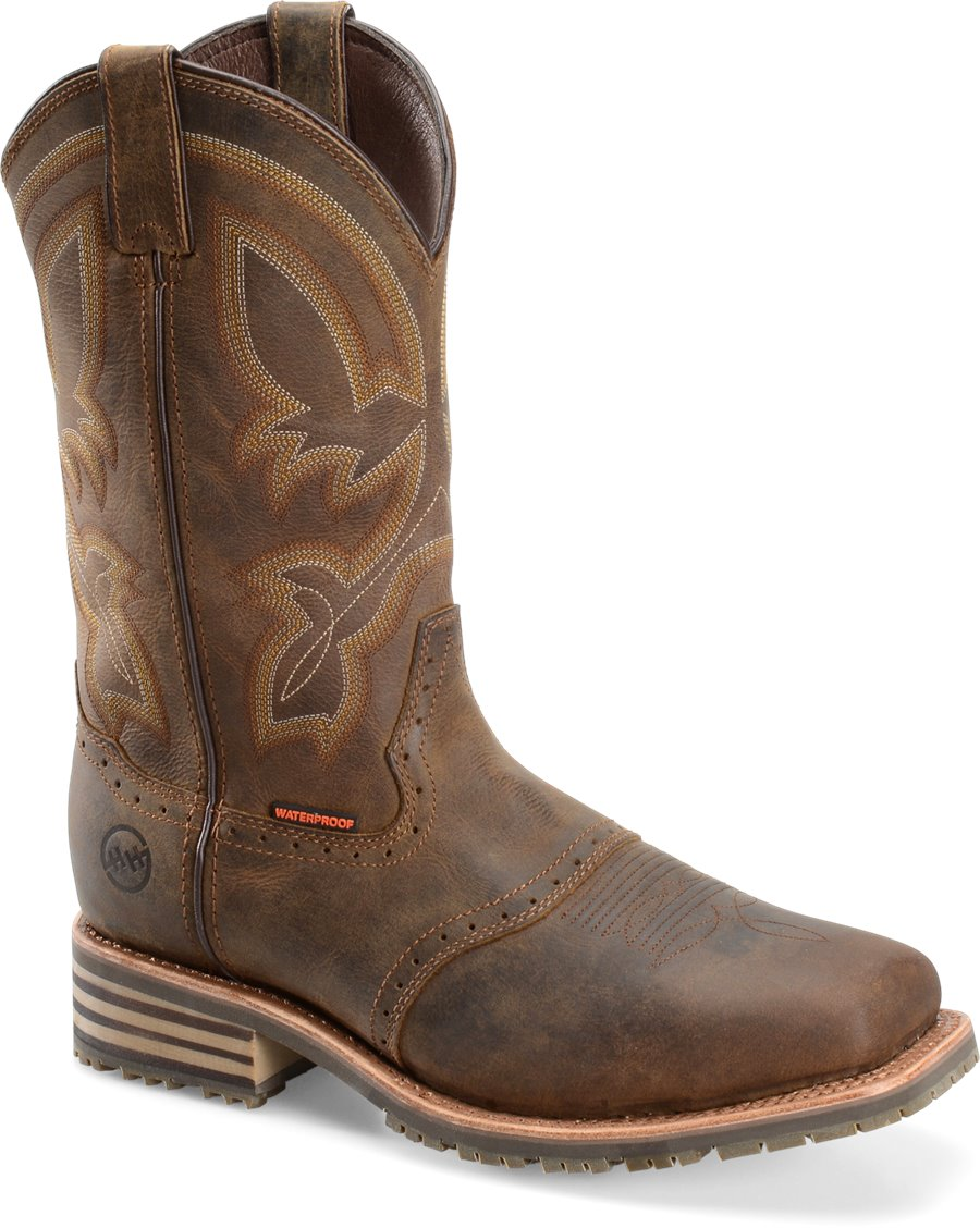 e029f71cb1c Double-H Boots | Product JEYDEN COMP TOE DH5124 in LIGHT BROWN ...