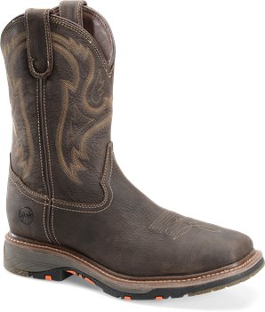 Sagebrush Double H Boot 11 Inch Workflex Wide Square CompToe Roper