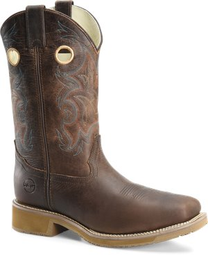 Light Brown Double H Boot Rubert