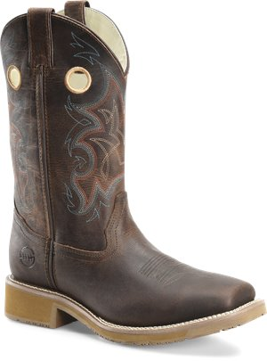 Buffalo Mad Dog Tan  Double H Boot Rubert