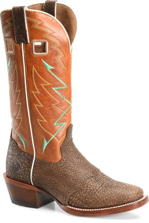 Burnt Orange Brown Double H Boot OCTAVIUS