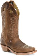 Double H Boot 13 Inch Wide SQ Old Town Buckaroo in Old Town Folklore