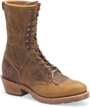 Brown Double H Boot 10 Inch Gel Cell