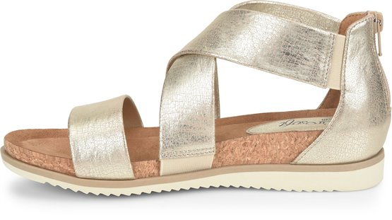 d11fa6a5981 EuroSoft Landry II in Gold - EuroSoft Womens Sandals on Shoeline.com