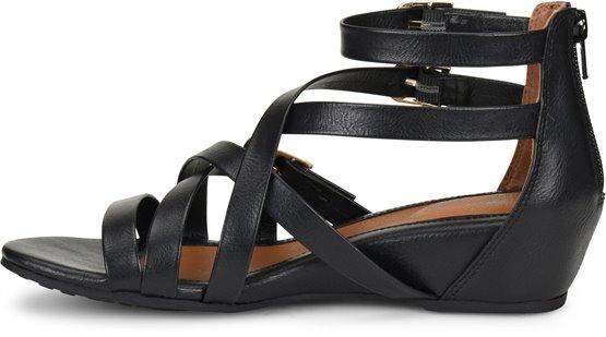 097690736a9a EuroSoft Rory in Black - EuroSoft Womens Sandals on Shoeline.com