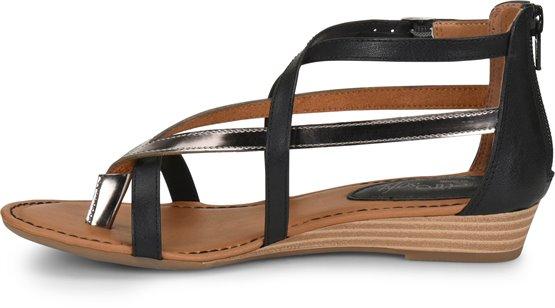 2c1eab444821 EuroSoft Melba in Black - EuroSoft Womens Sandals on Shoeline.com