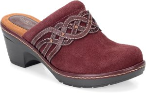 Bordeaux Red Suede EuroSoft Britta