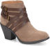 Phoebe Stone Taupe Suede