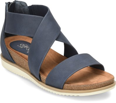 df0626239ab EuroSoft Landry II in Navy - EuroSoft Womens Sandals on Shoeline.com