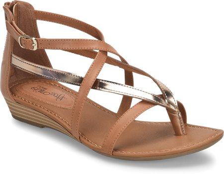 3e6cf3c0c43d EuroSoft Melba in Toast Rose Gold - EuroSoft Womens Sandals on ...