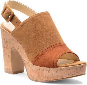 Golden Tan Suede Isola Gabriela