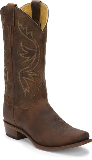 Dark Brown Justin Boot Elon