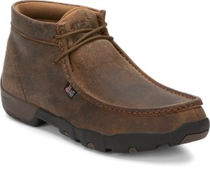 Dark Brown Justin Boot Cappie