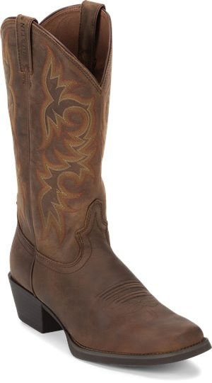 Dark Brown Justin Boot Quint