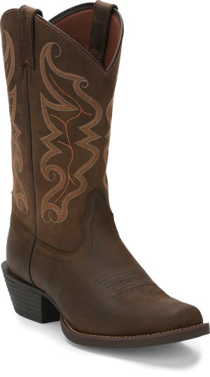 Dark Brown Justin Boot Kaven