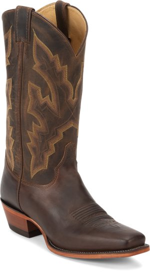Medium Brown Justin Boot Beau