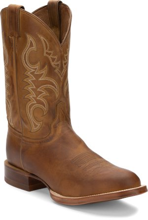 Golden Brown Justin Boot Gil
