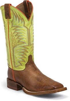Green Justin Boot Hidalgo