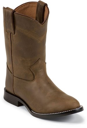 Light Brown Justin Boot Leedy