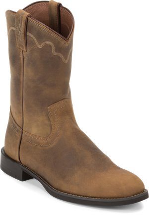 Light Brown Justin Boot Jeb