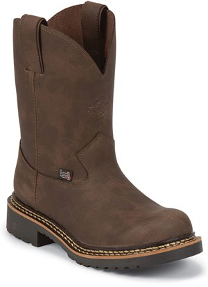 Medium Brown Justin Boot Taliesin