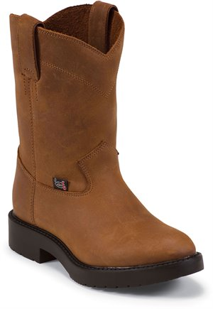 Light Brown Justin Boot Meno Youth