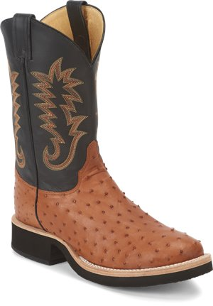 Light Brown Justin Boot Paluxy