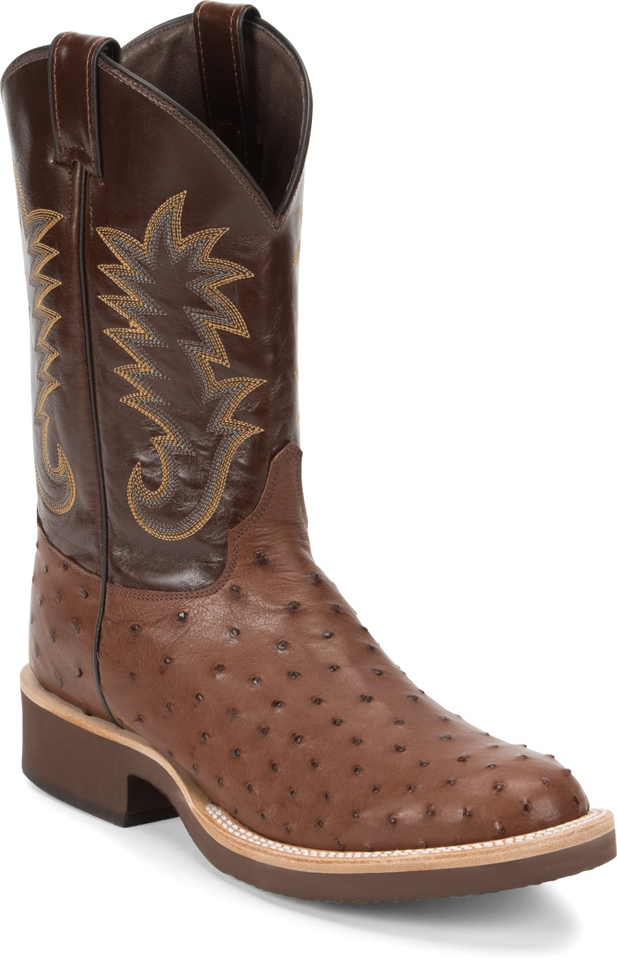 d6c2d4d0d35 Justin Boot Paluxy in Medium Brown - Justin Boot Mens Western on ...