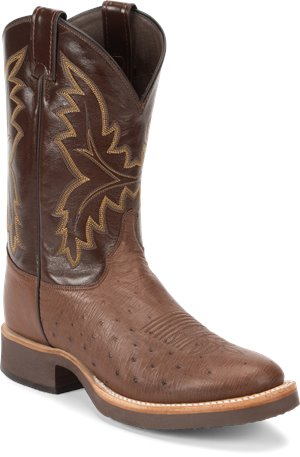 Medium Brown Justin Boot Paluxy