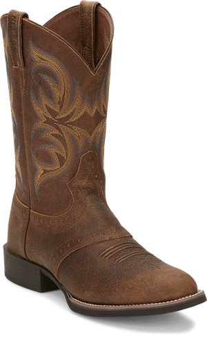 Dark Brown Justin Boot Murray