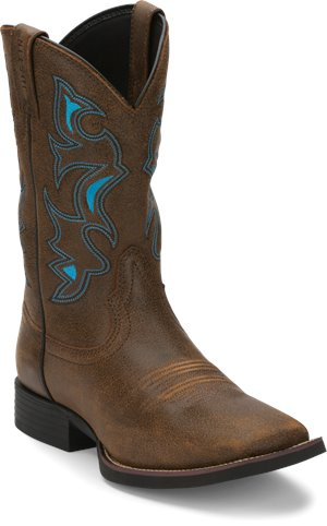 Brown Justin Boot Chet
