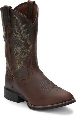 Brown Justin Boot Buster