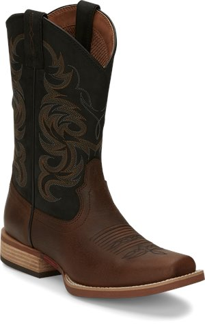 bROWN Justin Boot Cowman