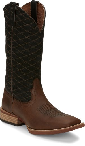 Brown Justin Boot Cattler