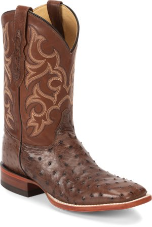 Brown Full Quill Justin Boot Truman
