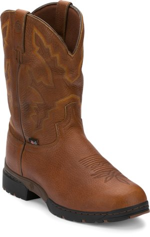 Light Brown Justin Boot Twang