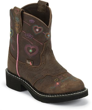 Medium Brown Justin Boot Esmerelda